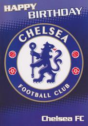 Chelsea Football Club Birthday Card
