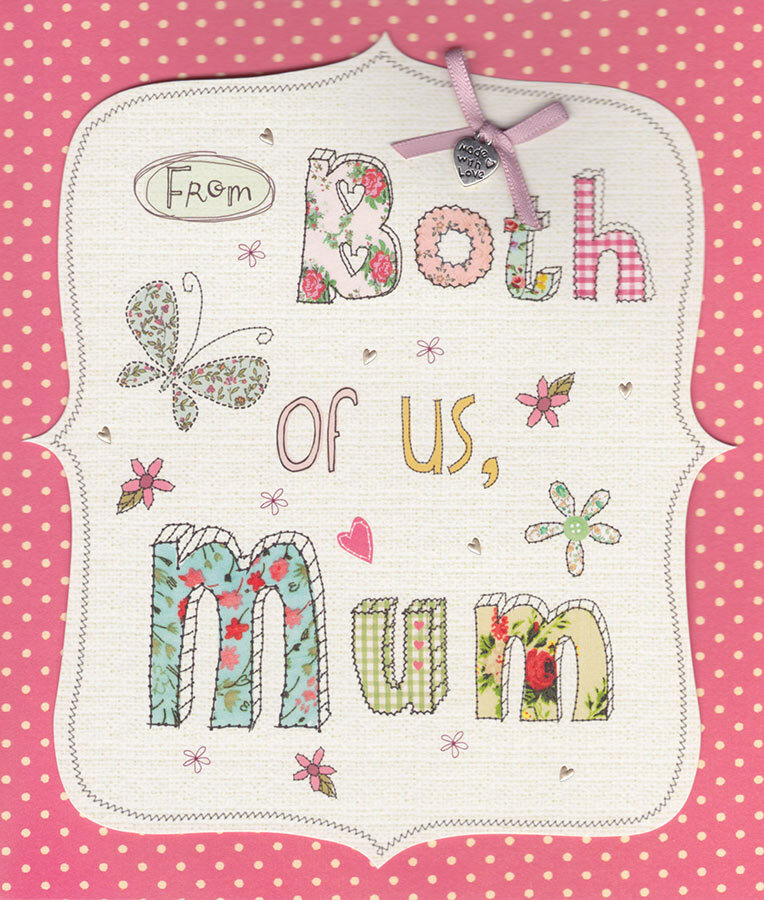 Carlton Cards Mum From Both Of Us Birthday Card CardSpark – Birthday Cards for Mum