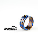 James Coogler Timascus Ring Style 1 - Size 9 (CooglerTimRingStyle1)
