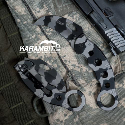 Smith & Wesson Extreme Ops Urban Titanium Camo Karambit