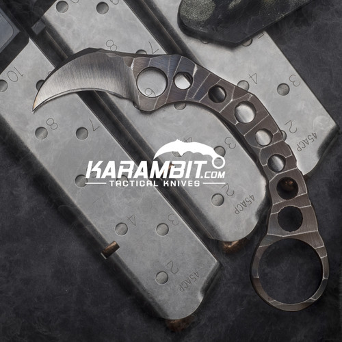 R.S. Knifeworks Scorched Karambit