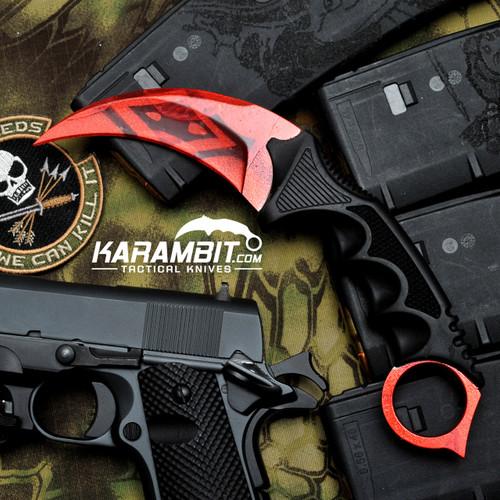 Painted Honshu Slaughter CS GO Karambit