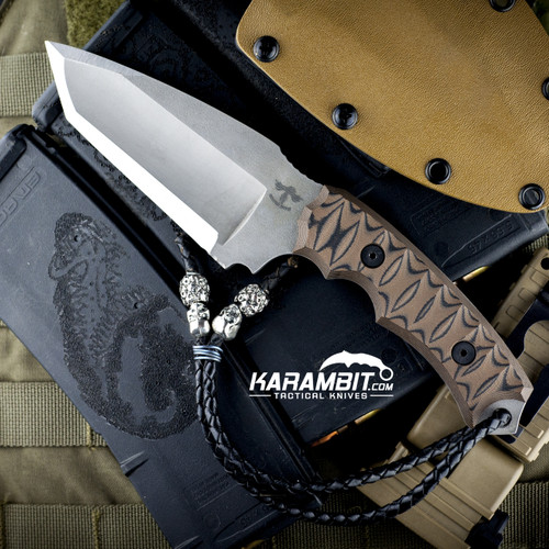 James Coogler's Kuma Tanto Fixed Blade Prototype