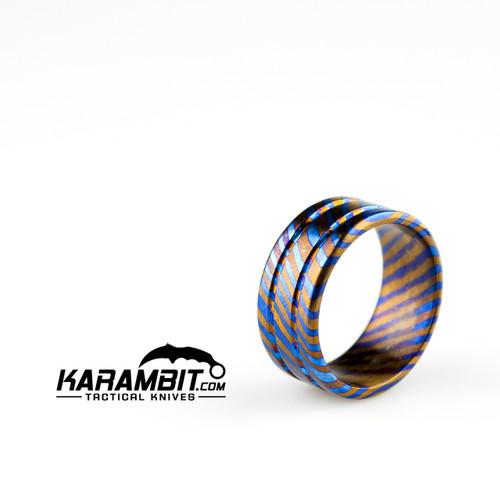 James Coogler Timascus Ring Style 1