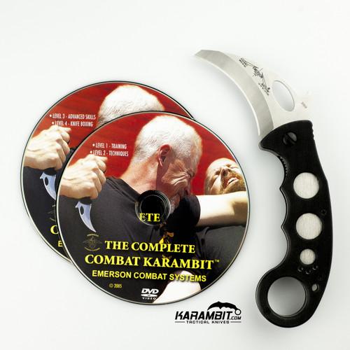 Emerson Combat Karambit & DVD Combo (EmersonKbit+Dvd)