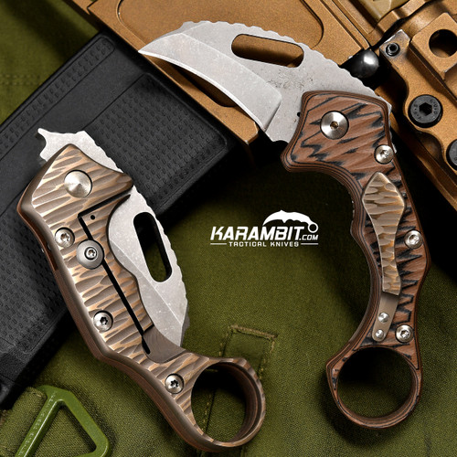 James Coogler's Coyote Kaida Prototype Folding Karambit
