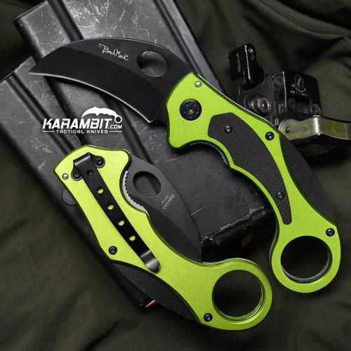 BenchMark Venom Folding Karambit