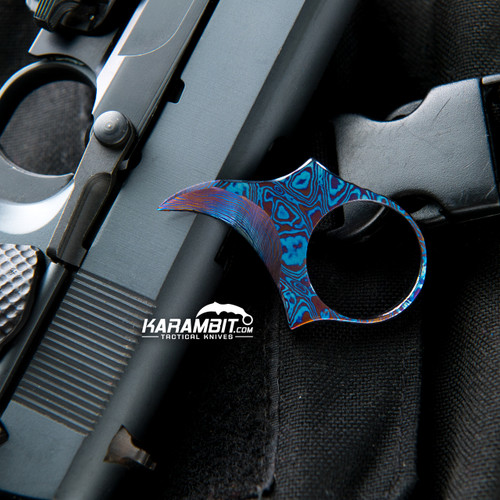 James Coogler's Timascus Ringed Hangnail Claw