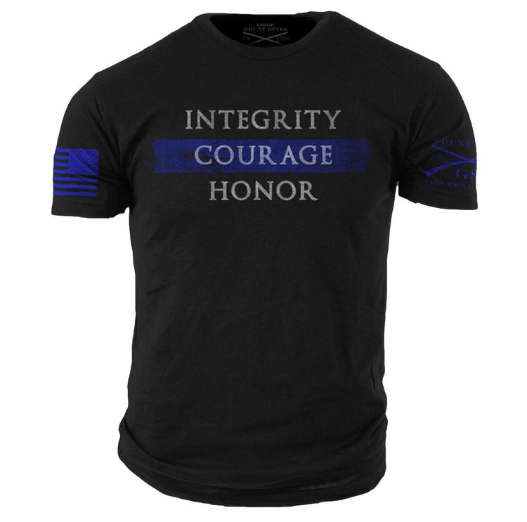 Blue Line Tshirt (GS358)