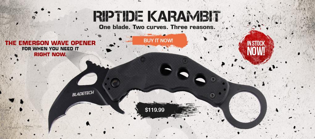 Blade Tech Riptide Karambit