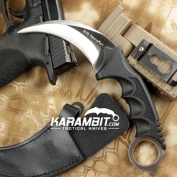 Honshu Silver Kerambit w/Boot Sheath (UC2786)