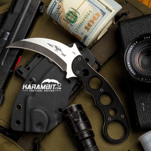 Emerson Stonewash Fixed Blade Karambit (KAR-FX-SF)