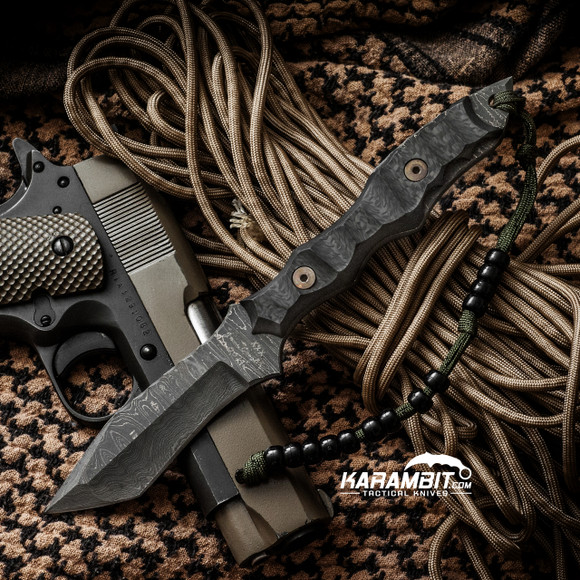 James Coogler's Stealth Fighter Damascus Tanto