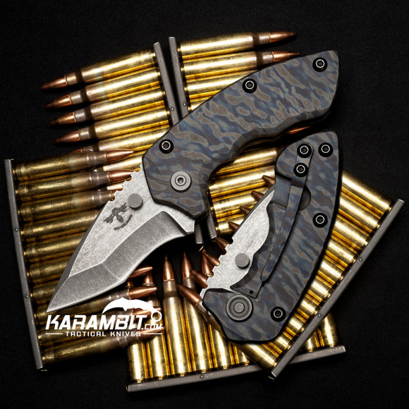 James Coogler's Camo Archangel Harrissi Folding Knife