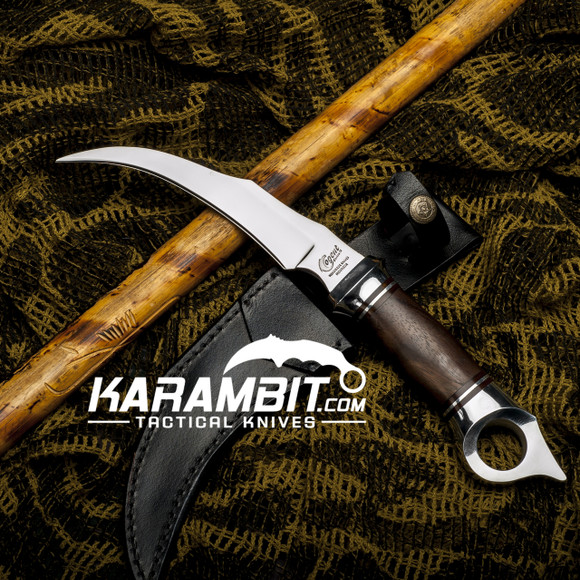 Cogent Knives Traditional Indonesian Hawkbill Knife