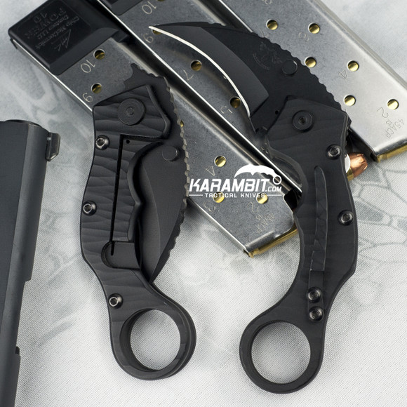 James Coogler's Black Stryker Folding Karambit (CooglerBlackStryker)