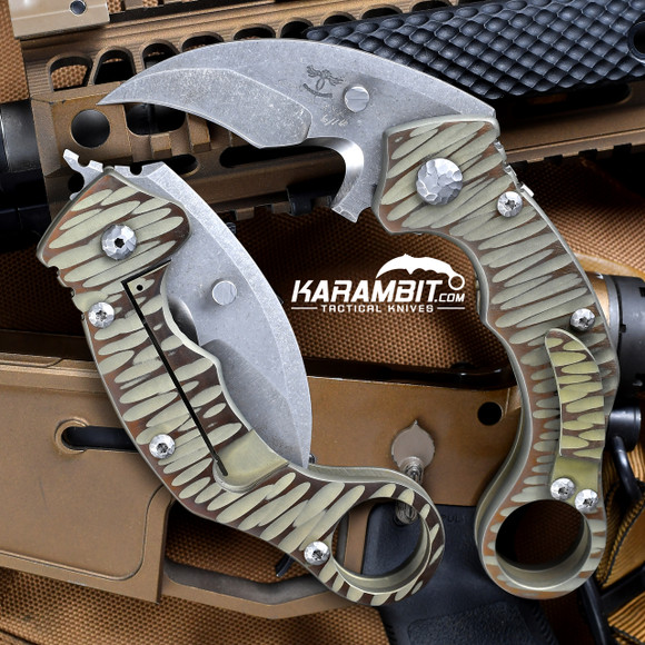 James Coogler's Assited Reaper X2 Folding Prototype Karambit (CooglerAssistedFoldingReaperX2)