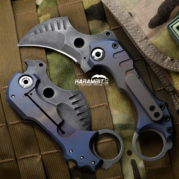 R.S. Knifeworks Blue Folder Prototype (RSKBlueFolderProto)