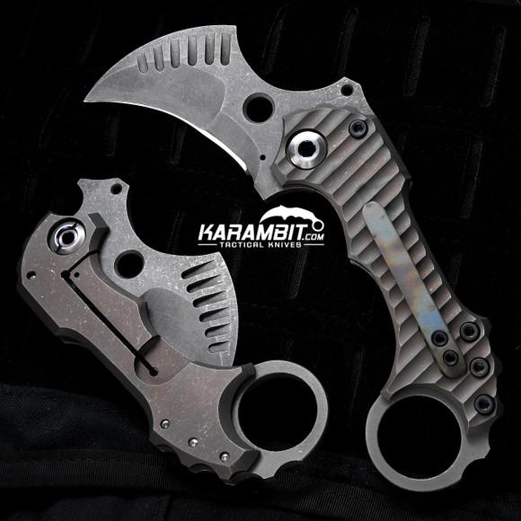 R.S. Knifeworks Prototype Surge Folding Karambit (RSKSurgeProtoKbit)