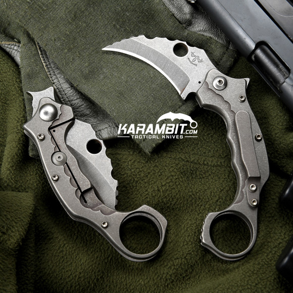 James Coogler's Smooth Satin Smasher Prototype Flipper Karambit (CooglerSmthSatinSmasher)
