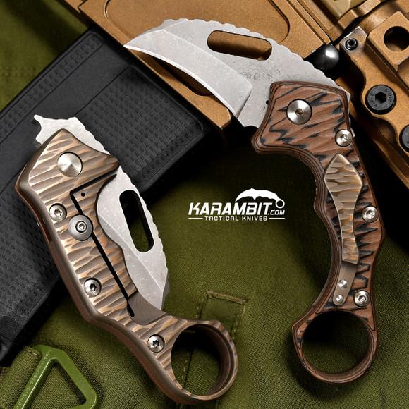 James Coogler's Coyote Kaida Prototype Folding Karambit (CooglerCoyoteKaidaProto)