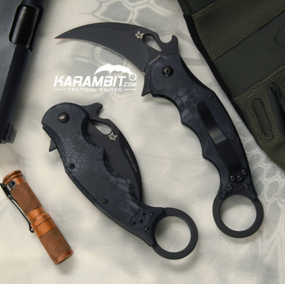 Fox 479 Kryptek Typhon Karambit & DVD Training Package - 3 in 1 (FX479KT+Trainer+DVDPkg)