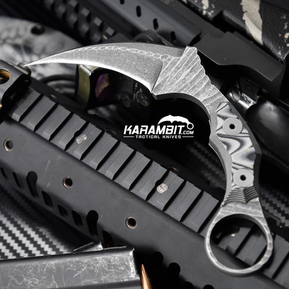 James Coogler's Grey Stonewashed Juggernaut Karambit (JCooglerJuggrGreySWKbit)