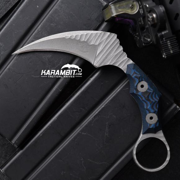 James Coogler's Blue Rockface Juggernaut Karambit (JCooglerBluJgrRckfceKbit)