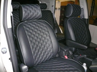 Clazzio Quilted Insert Seat Covers - Nissan 370Z 09+