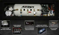 AirREX Complete Digital Air Suspension Kit with Struts - Nissan GTR 08+
