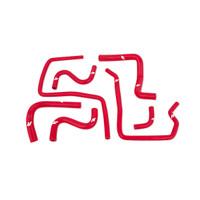Mishimoto 04-07 Subaru WRX / WRX STI Silicone Ancillary Hoses, Red *NEW