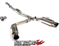 Tanabe Medalion Concept G Blue Cat-Back Exhaust - Mitsubishi Lancer EVO10 08-09