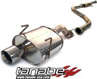 Tanabe Medalion Touring Cat-Back Exhaust - Honda Civic Hatchback 92-95