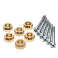 Skunk2 Lower Control Arm Bolt Kit, Gold Anodized