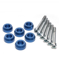 Skunk2 Lower Control Arm Bolt Kit, Blue Anodized