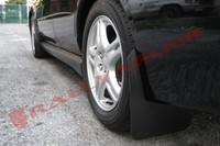 Rally Armor Black/Black Basic Mud Flaps - 2002-2007 Subaru Impreza WRX/STI