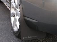 Rally Armor Black/Grey Classic  Mud Flaps - 2002-2007 Subaru Impreza WRX/STI