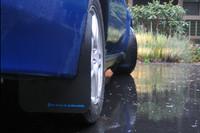 Rally Armor Black/Blue Classic  Mud Flaps - 2002-2007 Subaru Impreza WRX/STI
