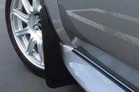 Rally Armor Black/Black Classic  Mud Flaps - 2002-2007 Subaru Impreza WRX/STI