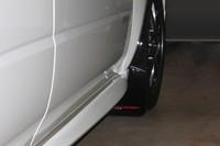 Rally Armor Black/Red Urethane  Mud Flaps - 2002-2007 Subaru Impreza WRX/STI