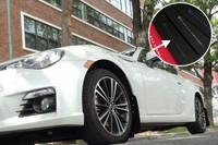 Rally Armor Black/Grey Urethane Mud Flaps - Scion FR-S / Subaru BR-Z
