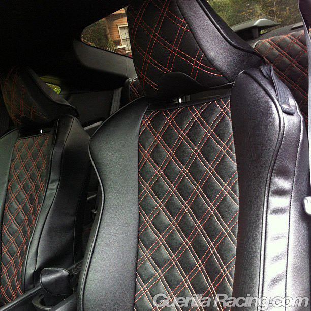 Custom Clazzio Quilted Seat Covers In Our FR S