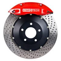 StopTech BBK (Big Brake Kit) - Honda Civic LX Sedan w/ Drilled Rear Disc - 1994-1995 - Drilled Front 328x28