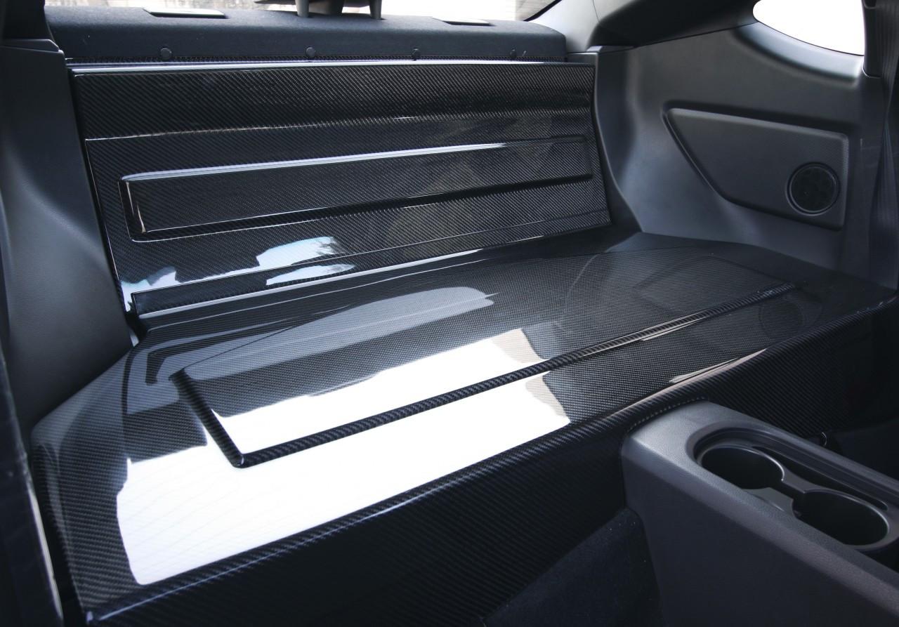Seibon Carbon Fiber Rear Seat Panels Pair Scion Frs 2012 2013