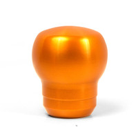 Blox Racing FR-S Style Billet Shift Knob - Atomic Orange, 12x1.25mm