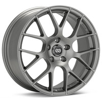 Enkei Raijin Wheel - 18x8.5 +45 5x100 Matte Gunmetal