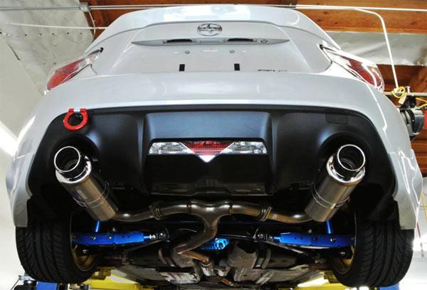 HKS Spec-L Hi-Power Cat-Back Exhaust - CF Tip - Scion FR-S ...