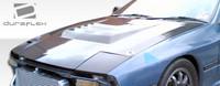 1986-1991 Mazda RX-7 Duraflex D-1 Style Hood
