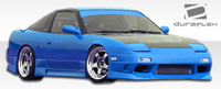 1989-1994 Nissan 240SX 2DR Duraflex GP-1 Body Kit  w/ door caps
