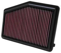 K&N Replacement Air Filter - Honda Civic, 1.8L L4; 2012
